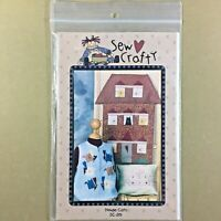 House Cats quilt pattern embroidery Sew Crafty SC-201 quilt, pillow, vest, shirt