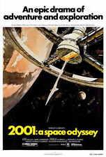 2001: A SPACE ODYSSEY Movie POSTER 27x40 B Keir Dullea Gary Lockwood William