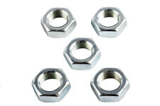 M18 x 1.5mm Left Hand Threaded Half Nuts, Ideal for Rose Joints - Pack of 5