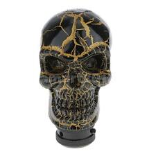Skull Car Manual/Automatic Knob Gear Shift Head Shifter Lever Stick Golden
