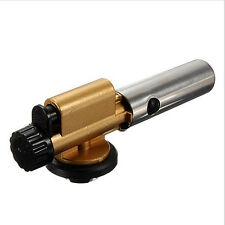 Portable Gas Torch Flamethrower Butane Burner Auto Ignition Outdoor Picnic BBQ