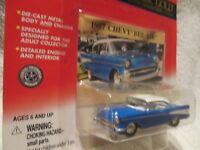 CLASSIC GOLD 1957 CHEVY Belair blue  JOHNNY LIGHTNING  1/64 ltd ed 2000