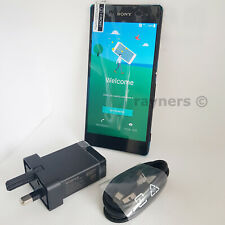"""(New Handset) Black Sony Xperia Z3+ Plus 5.2"""" 32GB 3GBRAM NFC Android 20MP E6553"""