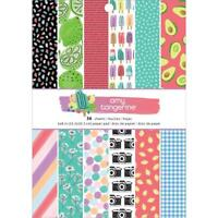 """American Crafts Amy Tangerine - Stay Sweet - Paper Pad 6""""x8"""""""