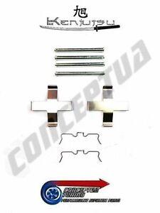 Rear Brake Caliper Pad Pins Clips Hardware Kit Fits Z32 300ZX Fairlady VG30DETT