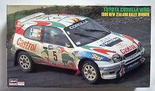 HASEGAWA 1/24 Toyota Corolla WRC 1998 New Zealand Rally Winner scale model kit
