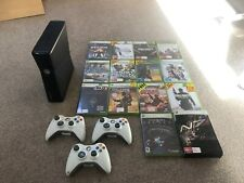 XBOX 360 + 3 controllers & 14 games - excellent condition