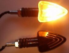 2X MOTORCYCLE TURN SIGNALS INDICATORS AMBER TURNING LAMP BULB FOR HONDA SUZUKI