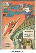 Captain Marvel Adventures #40 (Oct 1944, Fawcett) vg/f