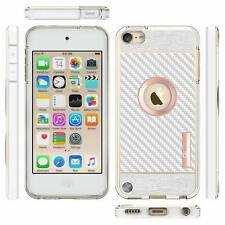 For iPod Touch 5th 6th 7th Gen Case Ultra Slim Soft Phone Cover + Tempered Glass
