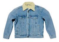 Levis Women's Original Sherpa Trucker Jacket In Vintage Blue 36136-0000