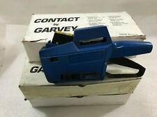 Garvey 22-77 Price Gun Labeler with 5 Boxes of White Yellow Blue Labels (Z20)