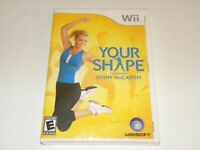 Your Shape: Featuring Jenny McCarthy (Nintendo Wii, 2009) Brand New - Sealed