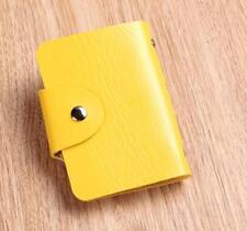 Yellow Cute Mini bag Womens Wallet Holder Pocket Business ID Card Credit Bag