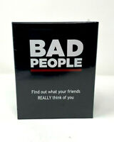 BAD PEOPLE - The Adult Party Game (New Factory Sealed)