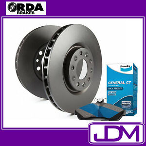 FORD FALCON FG FPV all models EXC. GT & GTP RDA Rear Brake Disc Rotors & Pads