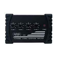 CAD HA4 Four 4 Channel Stereo Headphone Amplifier - PRO Amp for Headphones