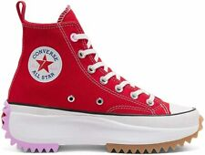 Converse scarpa sneaker donna VLTG Run Star Hike High Top art. 167108C rosso
