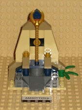 LEGO Pharaoh's Quest 7306 Golden Staff Guardians New