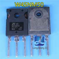 5PCS MOSFET Transistor ST TO-247 STW45NM50 W45NM50 new