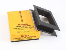 KODAK EXTENSION UNIT FOR MEDALIST ACCESSORY BACK, IN DECENT BOX/cks/198090