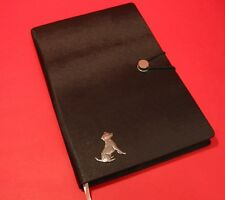 Jack Russell Terrier A5 Black Note Book Journal Dog Vet Christmas Useful Gift