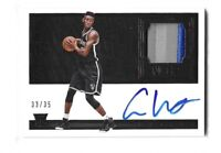 2016-17 Noir Caris LeVert Rookie Patch Auto RPA /35 RC Brooklyn Nets Pacer
