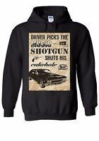 Supernatural Winchester Driver Bros Men Women Unisex Top Hoodie Sweatshirt 1944E