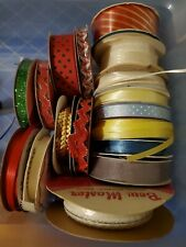 17 Rolls Ribbon Assorted Colors Sizes