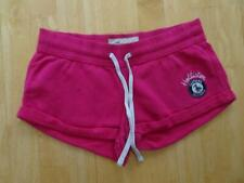 HOLLISTER ladies pink jersey summer shorts SMALL UK 8 - 10 AUTHENTIC