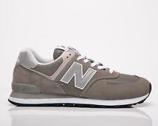 New balance 574 Hombre Gris Athletic Tenis Zapatos Informales Con Cordones Estilo De Vida