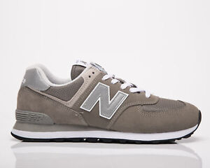 New Balance 574 Men's Grey Athletic Lifestyle Sneakers Casual Lace Up Shoes
