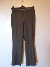 Viyella Fully Lined Wool Blend Trousers Petite Size 8 BNWT RRP £99.90 Chocolate