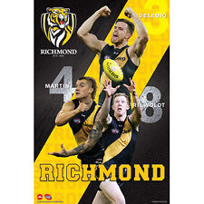 AFL - Richmond Tigers Players POSTER 61x91cm NEW Deledio Martin Riewoldt footy