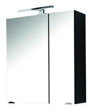 5673 Badezimmer Spiegelschrank mit LED Beleuchtung Bad Spiegel Marano Laonda Neu