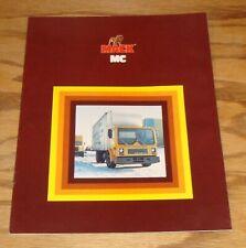 Original 1981 - 1982 Mack MC Truck Sales Brochure 81 82
