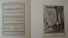 Musik von Laborde 1881 Trennwand Text und 2 Gravuren XIX. Bedauert D Liebhaber
