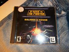 Star Wars X-Wing VS Tie Fighter + Balance of Power rare PC Game