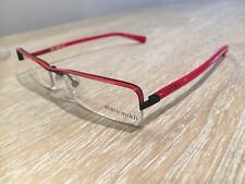 Alain mikli Semi lente sin montura con marco rojo/negro A0416-72