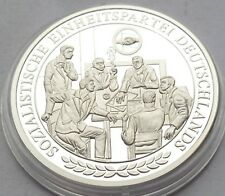 SED  Parteiabzeichen -  Medaille 20 Gramm Silber 999 DDR 1949-1990