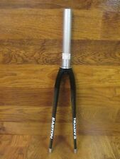 "EASTON EC70 700C  1 1/8 X 7 1/2 "" STRAIGHT STEERER CARBON ROAD FORK - BLACK"