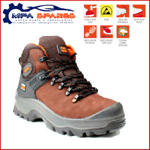 NO RISK YUKON - STEEL TOE CAP - PROTECTIVE MIDSOLE -  SAFETY BOOT
