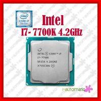 Intel Core i7-7700K Kaby Lak Processor 4.2GHz 8.0GT/s 8MB LGA1151 CPU Original