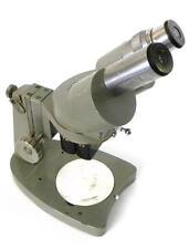 UNITRON M8F MICROSCOPE 1X & 2X 15X EYE LENS MODEL 57452