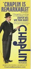 CHAPLIN the Musical with ROB McCLURE on Broadway MINT flyer