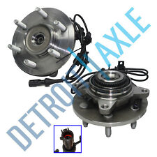 Set of (2) New Front Wheel Hub and Bearing Assembly for F-150 w/ ABS 4WD - 4x4