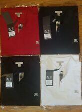 Burberry brit mens short  sleeve nova check placket  polo shirt s,m,l,xl,2xl,3xl