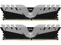 Team Dark 16GB (2 x 8GB) 288-Pin DDR4 SDRAM 3000 (PC4 24000) Memory Model TDGED4
