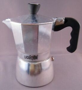 La Cafetiere Espresso Coffee Maker Percolator - 2 Cups - Stove Top