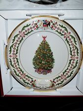 NIB Lenox 2011 Annual Christmas Trees Around the World Collectors Plate CHILE